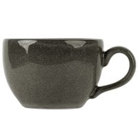 Homer Laughlin 223041435 Brownfield 8 oz. Charcoal China Cup - 12/Case