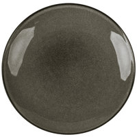 Homer Laughlin 222441435 Brownfield 11 1/2 inch Charcoal Deep China Pasta Plate - 12/Case