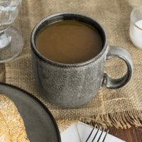 Homer Laughlin 224041435 Brownfield 14 oz. Charcoal China Cafe Mug - 12/Case