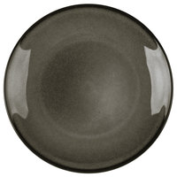 Homer Laughlin 220441435 Brownfield 6 1/2 inch Charcoal China Plate - 36/Case