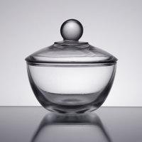 Anchor Hocking 64192B 8 oz. Glass Sugar Bowl with Lid