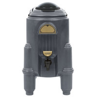 Cambro CSR3191 Camserver 3 Gallon Granite Gray Insulated Beverage Dispenser