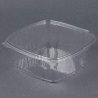 D&W Fine Pack VH64P VersaPak 64 oz. Recyclable Square Hinged Take Out Deli Container - 200 / Case