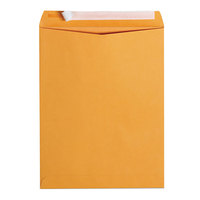 Universal UNV40099 #97 10 inch x 13 inch Kraft Peel Seal File Envelope - 100/Box
