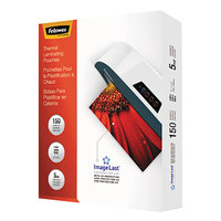 Fellowes 5204007 ImageLast 11 1/2 inch x 9 inch Letter Laminating Pouch - 150/Pack