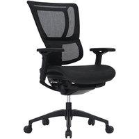 Eurotech Seating IOO-BLK iOO Black Mesh Synchro Tilt Office Chair