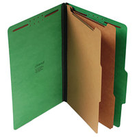 Universal UNV10312 Legal Size Classification Folder - 10/Box