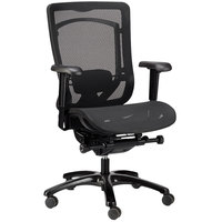 Eurotech Seating MMSY55 Monterey Black Mesh Syncro Tilt Office Chair