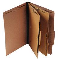 Universal UNV10325 Letter Size Classification Folder - 10/Box