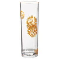 GET H-14-1-ST Keywest 14 oz. Sunset SAN Plastic Tom Collins Glass - 24 / Case