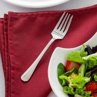 Acopa Landsdale 6 5/8 inch 18/8 Stainless Steel Extra Heavy Weight Salad Fork   - 12/Case