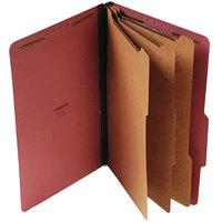 Universal UNV10295 Legal Size Classification Folder - 10/Box