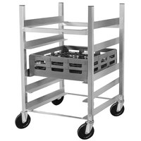 Channel GRR-63 5 Shelf Glass Rack Cart with 6 inch Spacing
