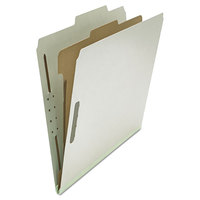 Universal UNV10252 Letter Size Classification Folder - 10/Box