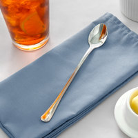 Acopa Landsdale 7 1/2 inch 18/8 Stainless Steel Extra Heavy Weight Iced Tea Spoon   - 12/Case