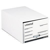 Universal UNV85220 15 1/2 inch x 23 1/4 inch x 10 3/4 inch Legal File Fiberboard Storage Drawer - 6/Case
