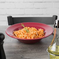 Tuxton DYD-105 DuraTux 24 oz. Tall China Pasta Bowl, Assorted Colors - 12/Case