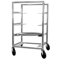 Channel OT-83 4 Tray Aluminum Oval Tray Rack - Assembled