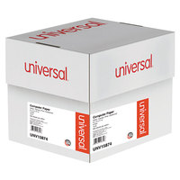Universal UNV15874 9 1/2 inch x 11 inch Multicolor Case of 15# 4 Part Perforated Continuous Print Computer Paper - 900/Sheets