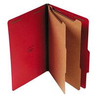 Universal UNV10313 Legal Size Classification Folder - 10/Box