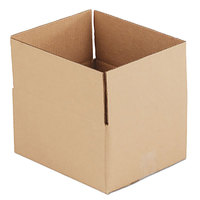12 inch x 10 inch x 6 inch Kraft Shipping Box - 25/Bundle