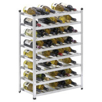 Channel WINKD861 12 3/4 inch x 22 1/2 inch Aluminum Wine Rack