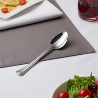 Acopa Landsdale 7 1/2 inch 18/8 Stainless Steel Extra Heavy Weight Tablespoon / Serving Spoon   - 12/Case