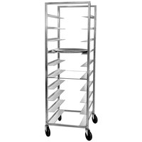 Channel OT-6 10 Tray Aluminum Oval Tray Rack - Assembled