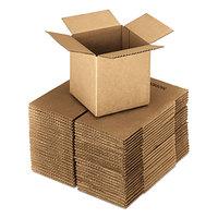 24 inch x 24 inch x 24 inch Kraft Shipping Box - 10/Bundle