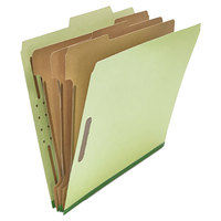 Universal UNV10291 Letter Size Classification Folder - 10/Box