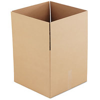 18 inch x 18 inch x 16 inch Kraft Shipping Box - 15/Bundle