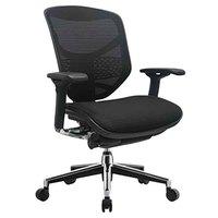 Eurotech Seating CONCEPT2.0-BLACK Concept 2.0 Black 3D Mesh Synchro Tilt Office Chair