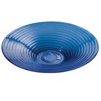 American Metalcraft GBB20 128 oz. Glacier Blue Glass Bowl