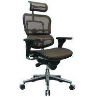 Eurotech Seating ME7ERG-KM13 Ergohuman Orange Mesh High Back Swivel Office Chair