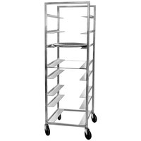 Channel OT-8 8 Tray Aluminum Oval Tray Rack - Assembled