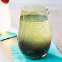 Stolzle S3527612T Twister 16.5 oz. Olive Stemless Wine Glass / Tumbler - 24/Case
