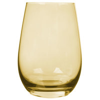 Stolzle S3527312 Elements 16.5 oz. Amber Tumbler   - 24/Case