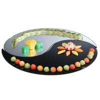 Cal-Mil PT245 24 inch Yin Yang 2 Piece Mirror Tray Set