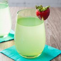 Stolzle S3527212E Elements 16.5 oz. Green Stemless Wine Glass / Tumbler - 24/Case