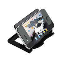 Universal UNV08117 4 inch x 2 3/4 inch x 2 3/4 inch Black One Compartment Smartphone Stand