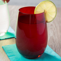Stolzle S3527112E Elements 16.5 oz. Red Stemless Wine Glass / Tumbler - 24/Case