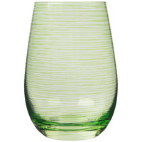 Stolzle S3527212T Twister 16.5 oz. Green Tumbler - 24/Case