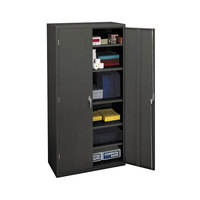Hon SC1872S Brigade 36 inch x 18 1/4 inch x 71 3/4 inch Charcoal Storage Cabinet