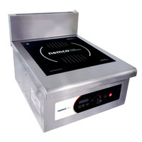 Nemco 9140-1 Heavy-Duty Countertop Induction Stock Pot Range - 208/240V, 3 Phase, 10,000W