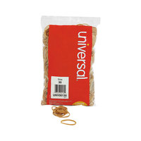 Universal UNV00130 2 inch x 1/8 inch Beige #30 Rubber Band, 1 lb. - 1100/Bag