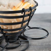 Clipper Mill by GET 4-33800 2 3/4 inch Black Teflon® Coated Iron Ramekin Cup Holder