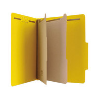 Universal UNV10304 Letter Size Classification Folder   - 10/Box