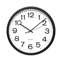 Universal UNV11641 12 inch Black Wall Clock
