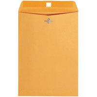 Universal UNV35262 #75 7 1/2 inch x 10 1/2 inch Kraft Clasp / Gummed Seal File Envelope - 100/Box