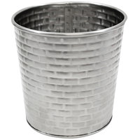 Tablecraft GTSS31 13 oz. Stainless Steel Round Fry Cup